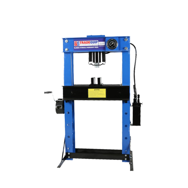 Tradequip Press Hydraulic 50T Rated 2037T