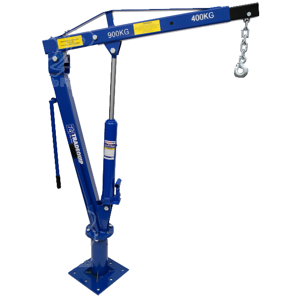 Tradequip Utility Crane Hydraulic 900kg Rated 2079