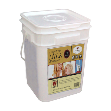 120 Serving Milk Bucket - Survival Equipment - Survival Gear - Prepping - Prepper - Emergency Preparedness