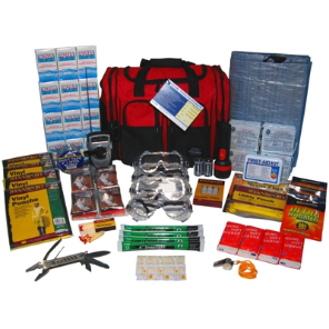 4-Person ''Severe Weather'' Emergency Kit