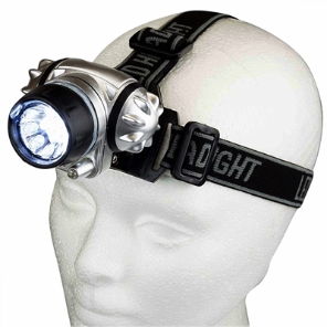 18-LED Headlamp Flashlight 3AAA