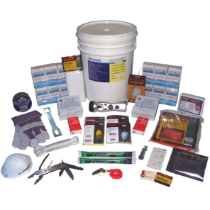 2-Person ''Bucket Style'' Emergency Kit