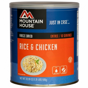 Mountain House #10 Can Rice & Chicken
