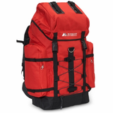 Red/Black Adult Hiking Backpack 24'' x 13.5'' x 8''