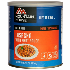 Mountain House #10 Can Lasagna w/ Meat Sauce