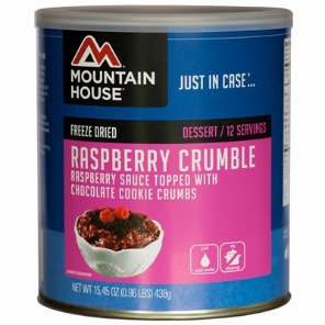 Mountain House #10 Can Raspberry Crumble