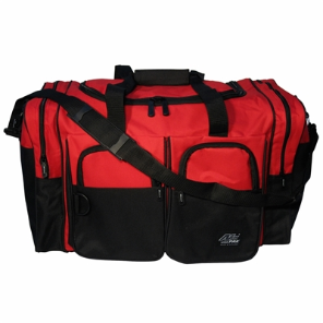 Red Duffle Bag Square 34'' x 16'' x 15''
