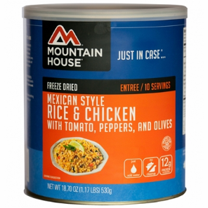 Mountain House #10 Can Mexican Rice w/ Chicken