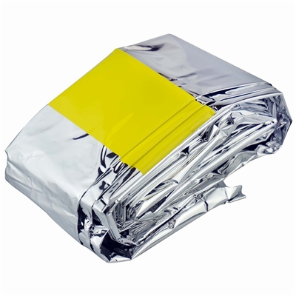 Emergency Mylar Sleeping Bag 84'' x 52''