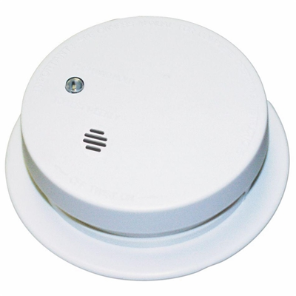 Kidde Fire Sentry Battery Ionization Smoke Alarm w/ Trim Ring