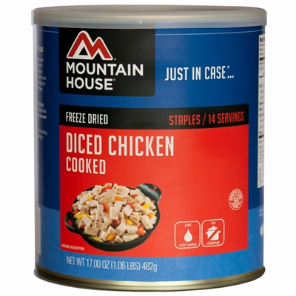 Mountain House #10 Can Cooked Diced Chicken