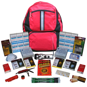 2-Person ''Grab-'N-Go'' Backpack Emergency Kit