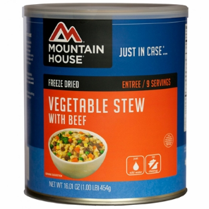 Mountain House #10 Can Vegetable Stew w/ Beef