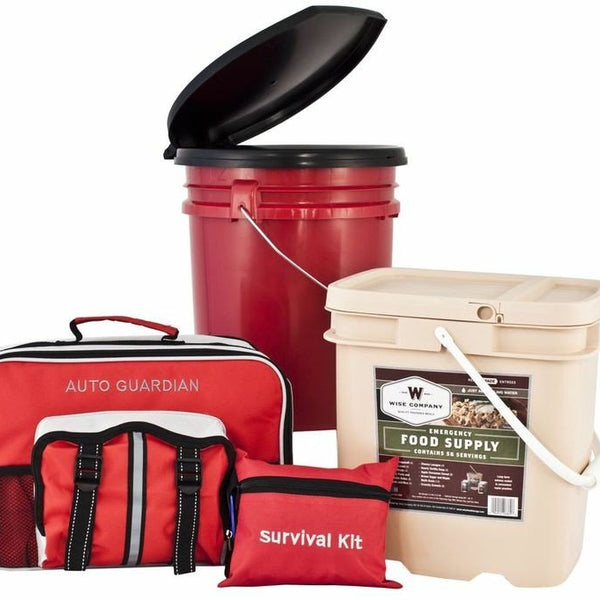 FREE SHIPPING - All In One Family Preparedness Package w/ Food Storage