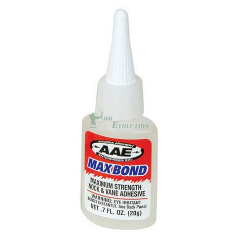 AAE Max Bond Nock and Vane Adhesive 20g or 0.7floz