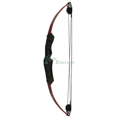 Abbey Brumby Compound Bow Ready To Shoot Set angled view
