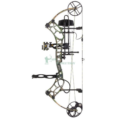 Bear LS2 Compound Bow Ready To Hunt Set realtree xtra