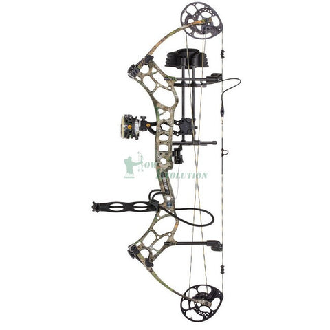 Bear LS4 Compound Bow Ready To Hunt Set realtree