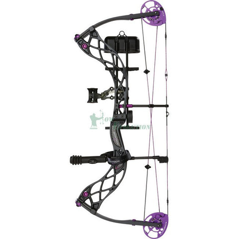 Bowtech Carbon Rose Compound Bow Ready To Hunt Set Micro Carbon