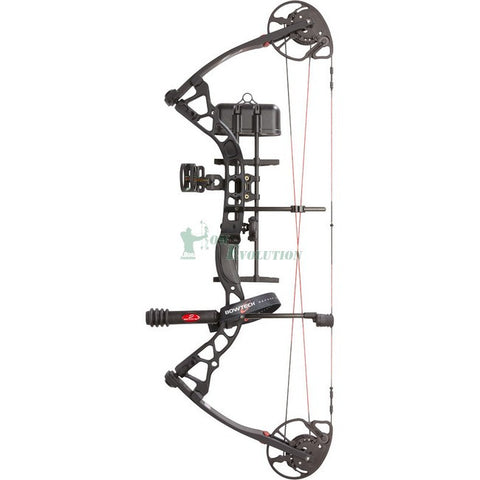 Bowtech Fuel Compound Bow Ready To Hunt Set black side view