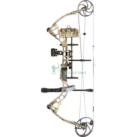 Diamond Provider Compound Bow Ready To Hunt Set Side View Mossy Oak BUC