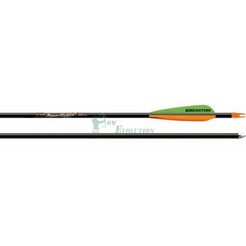 Easton Powerflight Arrows Dozen side view