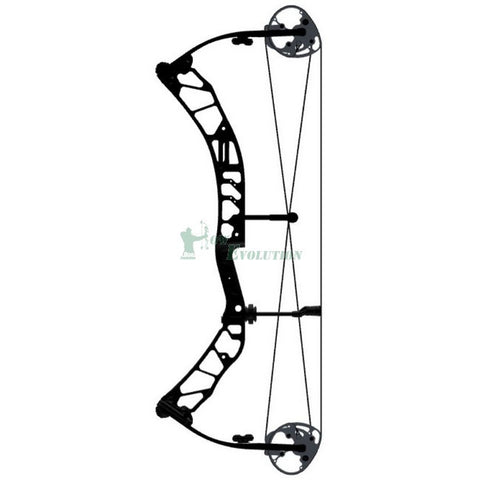 Elite Emerge Compound Bow Side View Black