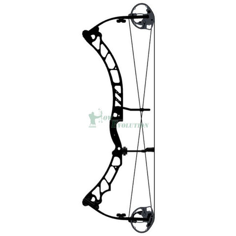 Elite Energy 35 Compound Bow Side View Black