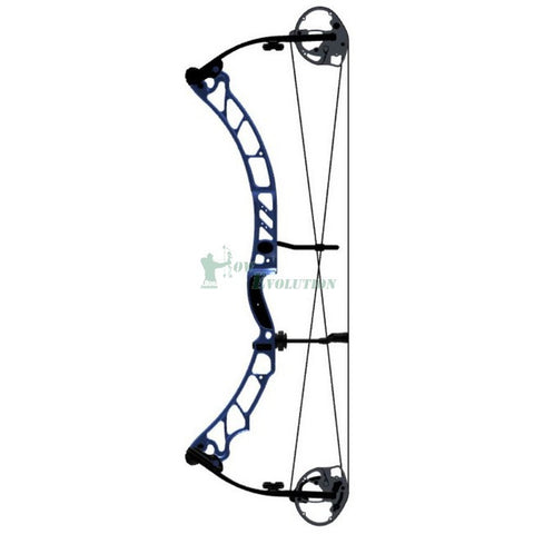 Elite Energy 35 Target Compound Bow Side View Blue