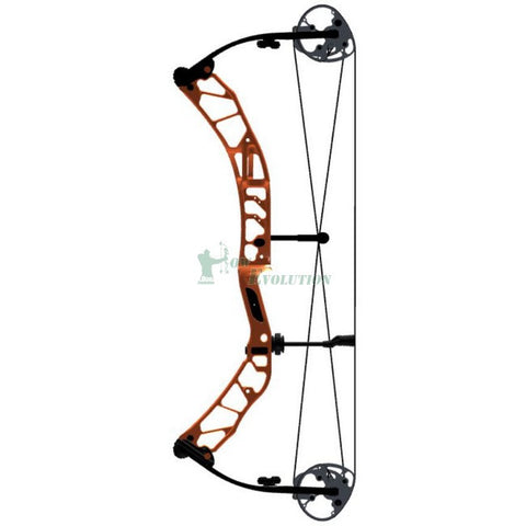 Elite Impression Target Compound Bow Side View Canyon Orange