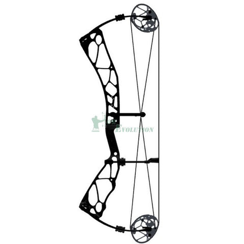 Elite Revol Compound Bow Side View Black