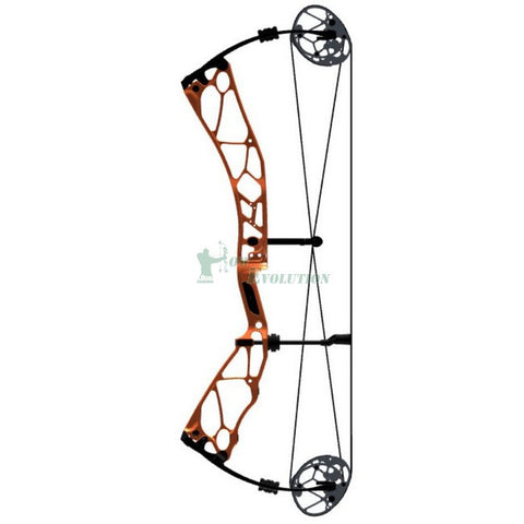 Elite Revol Target Compound Bow Side View Canyon Orange