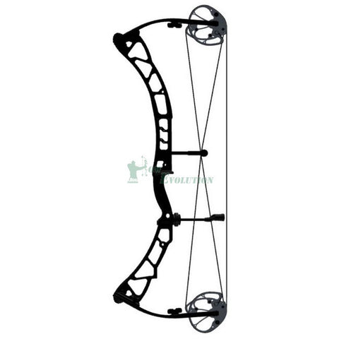 Elite Tempo Compound Bow Side View Black
