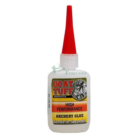 Goat Tuff  High Performance Vane Fletch and Nock Adhesive 30ml or 1floz