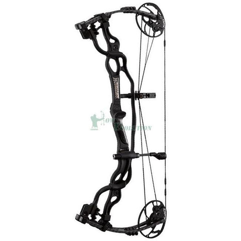 Hoyt Carbon Spyder FX Compound Bow Side View BlackOut