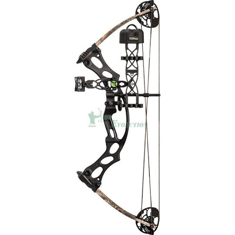 Hoyt Fireshot Compound Bow Ready To Hunt Set Side View Setup