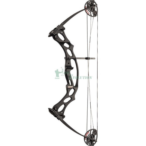 Hoyt Fireshot Compound Bow Side View Black