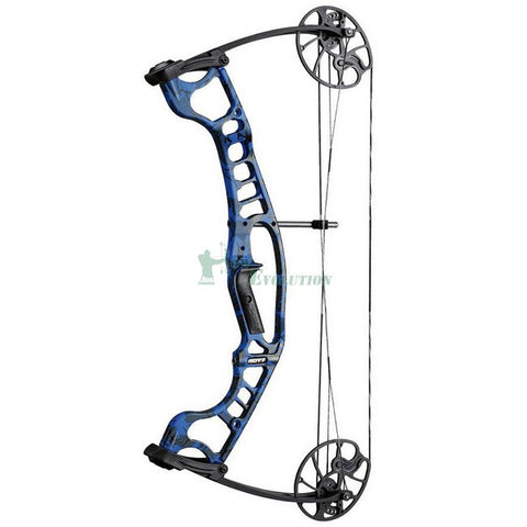 Hoyt Ignite Compound Bow Side View Blue Thunder