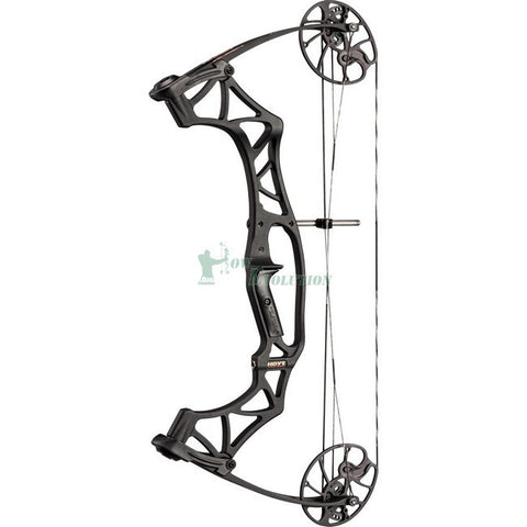 Hoyt Klash Compound Bow Side View Black