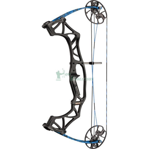 Hoyt Klash Target Compound Bow Side View Blue