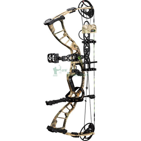 Hoyt Powermax Compound Bow Ready To Hunt Set Angled