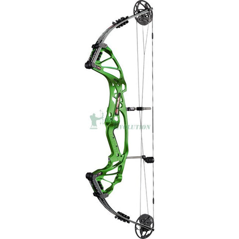 Hoyt Prevail FX SD Target Compound Bow Side View Mean Green