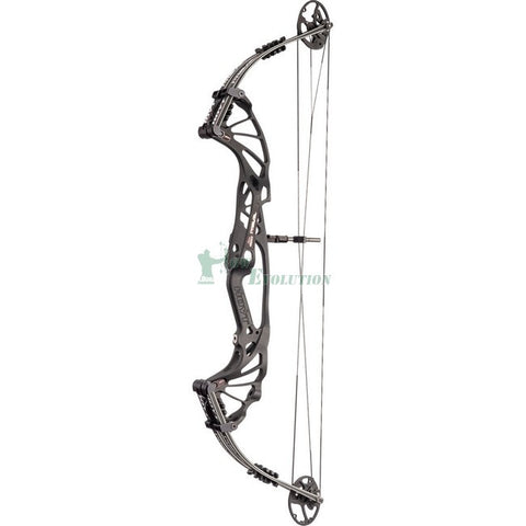 Hoyt Prevail 40 Target Compound Bow Side View BlackOut