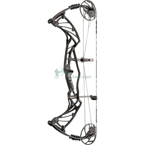 Hoyt Pro Defiant Turbo Compound Bow Side View BlackOut