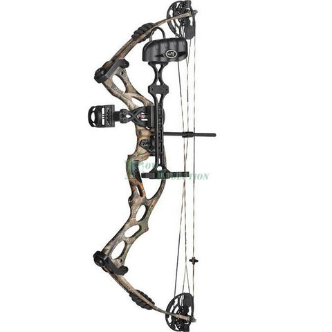 Hoyt Ruckus Compound Bow Ready To Hunt Set Side View Setup