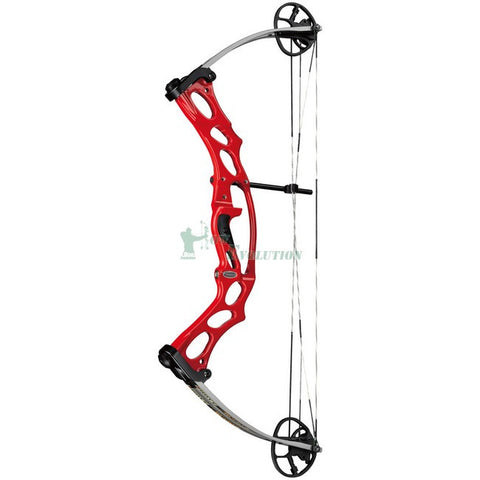 Hoyt Ruckus Target Compound Bow Side View Red