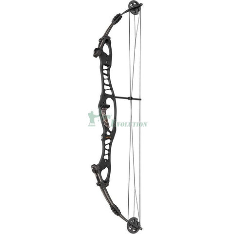 Hoyt Tribute Compound Bow Side View BlackOut