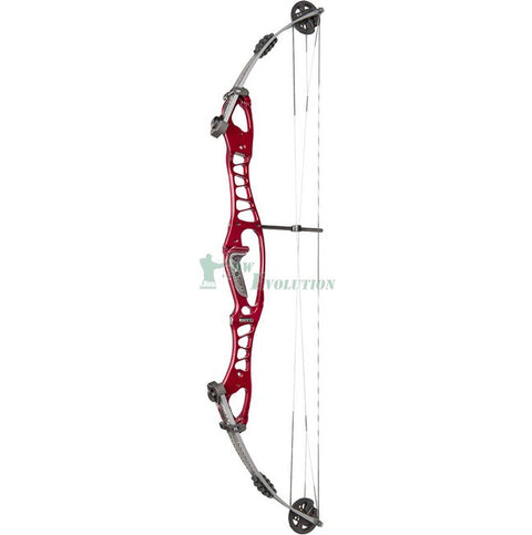 Hoyt Tribute Target Compound Bow Side View Championship Red