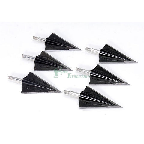 Kayuga Screw in 2 Blade Broadhead 130 Grain 6 Pack