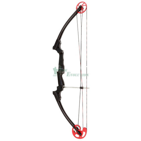Mathews Genesis Compound Bow Side View Black/Red